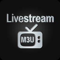 Icône apk Livestream TV - M3U Stream Player IPTV