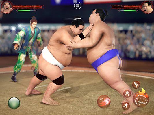 Image 3 of Sumo Wrestling 2019: Live Sumotori Fighting Game