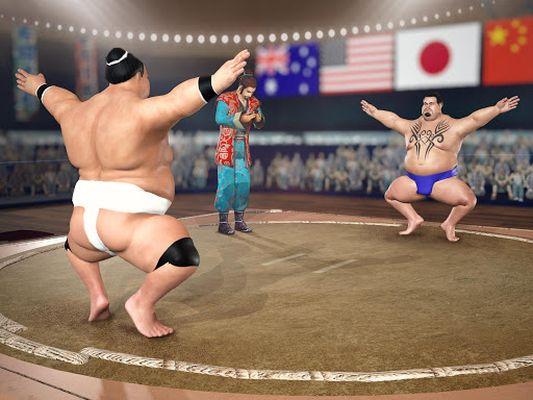 Image 2 of Sumo Wrestling 2019: Live Sumotori Fighting Game