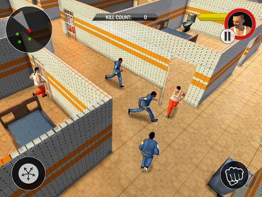 Prison Escape From Police Screenshot Apk 2