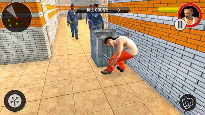 Prison Escape From Police Screenshot Apk 1