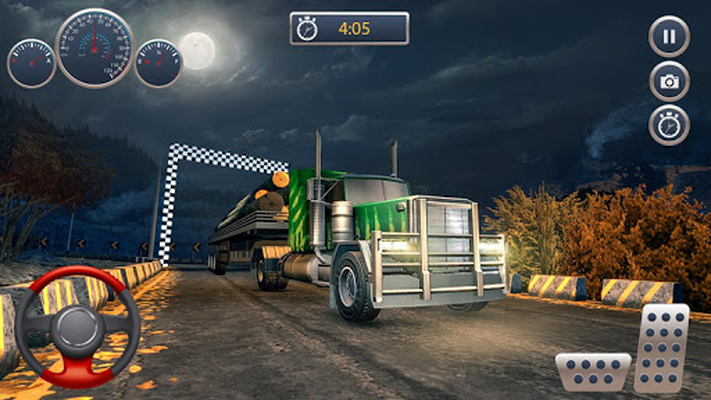 Image 11 of Offroad Truck Cargo Transportation Driving