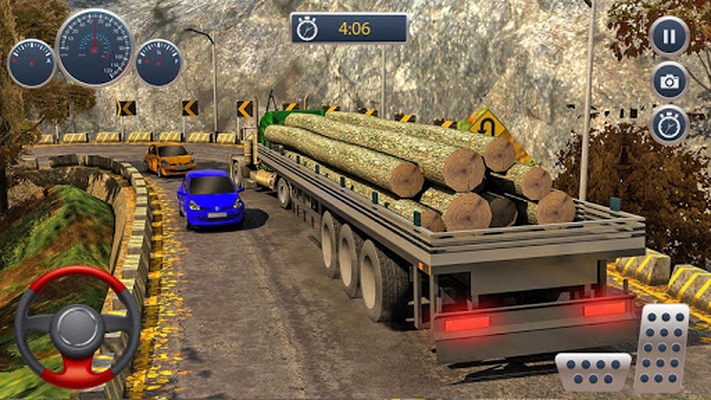 Image 9 of Off road Truck Cargo Transportation Driving