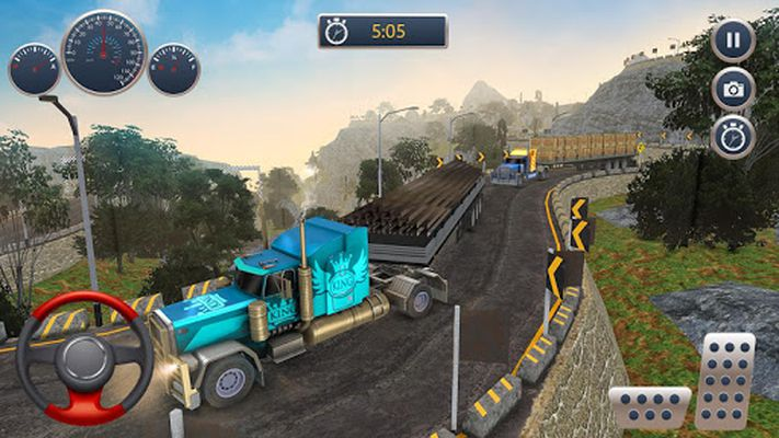 Image 6 of Off the road Truck Cargo Transportation Driving
