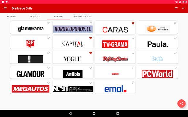 Image 1 of Diarios Chile