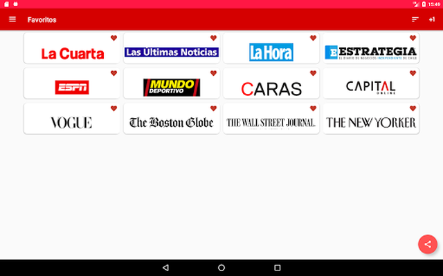 Image 19 of Chile Newspapers