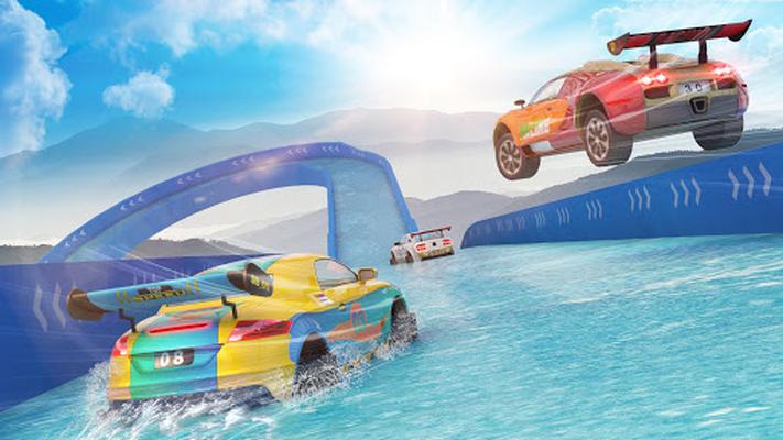 Image 12 of Water Slide Car Stunts Racer