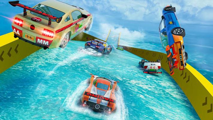 Image 11 of Water Slide Car Stunts Racer
