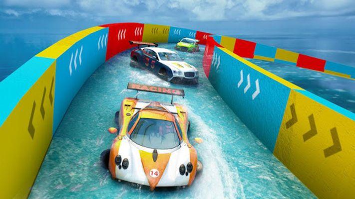 Image 5 of Water Slide Car Stunts Racer