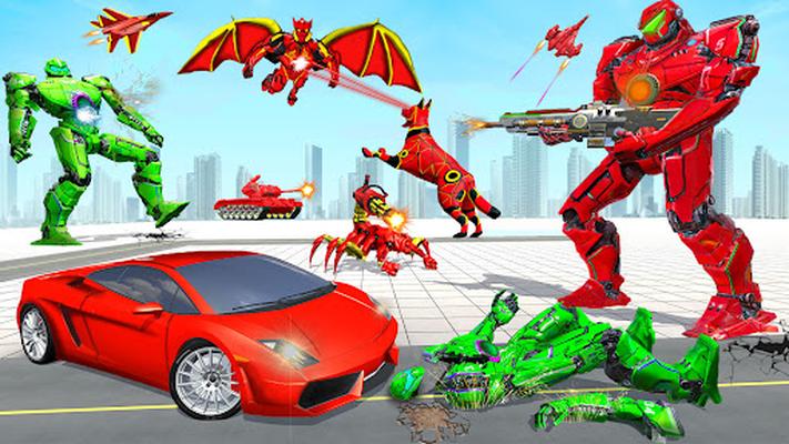 Image 10 of flying robot car simulator