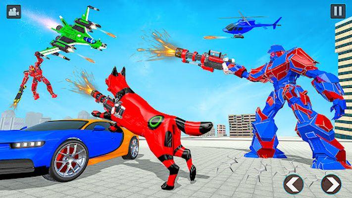 Image 7 of flying robot car simulator