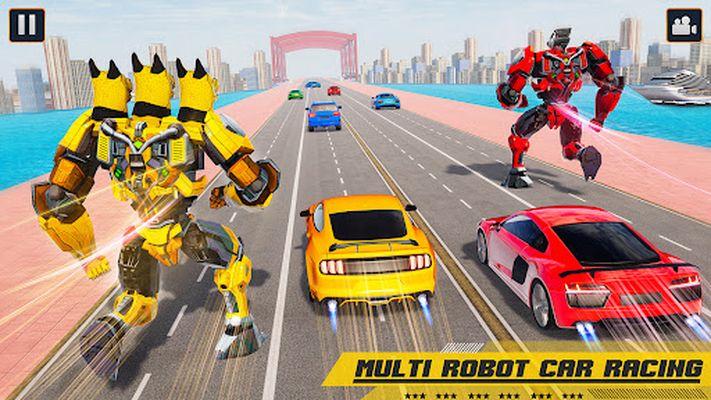 Image 5 of flying robot car simulator