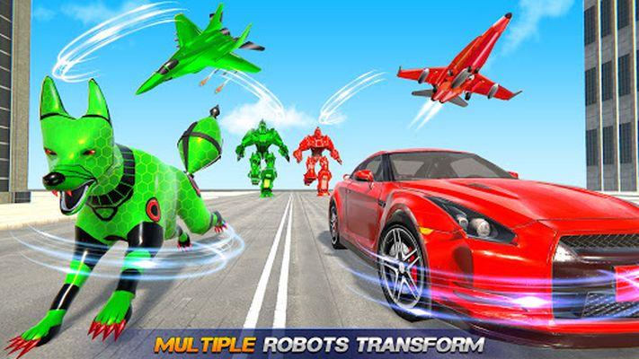 Image 3 of flying robot car simulator