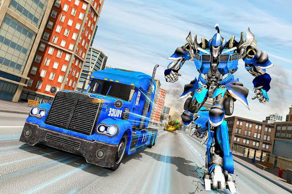 Image 13 of Police Robot Truck