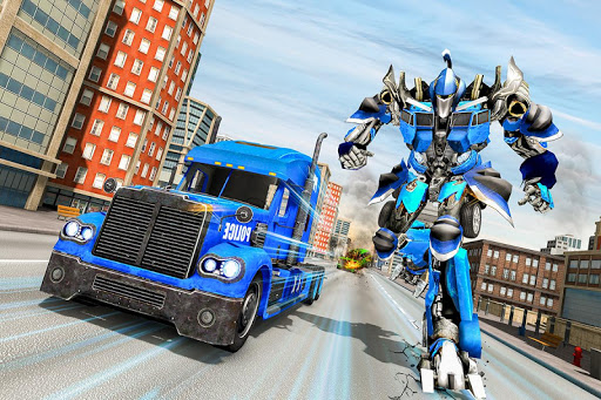 Image 21 of Police Robot Truck