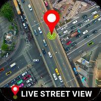 Ícone do viver rua Visão 360 - satélite Visão , terra mapa