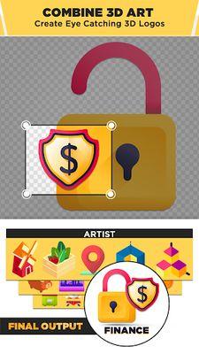 Image of 3D Logo Maker: Create 3D Logo and 3D Design Free