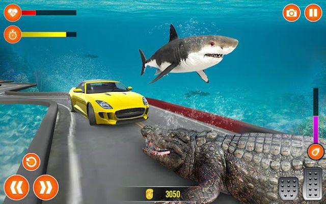 UnderWater Ramp Car Stunts 2019 screenshot apk 3