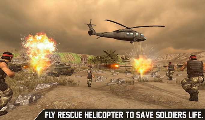 Image of US Air Force Battle Helicopter Rescue Operation 19