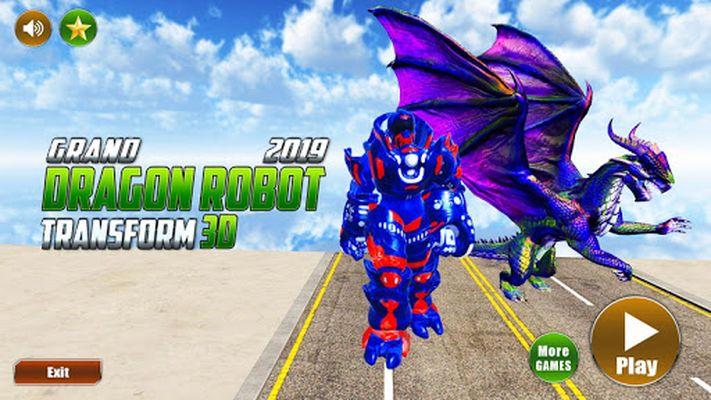 Image 2 of Grand US Dragon Robot Battle 3D