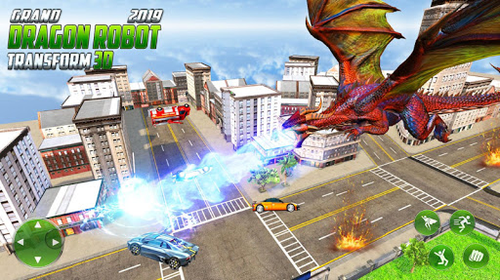 Image 14 of Grand US Dragon Robot Battle 3D