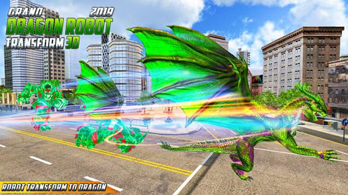 Image 10 of Grand US Dragon Robot Battle 3D
