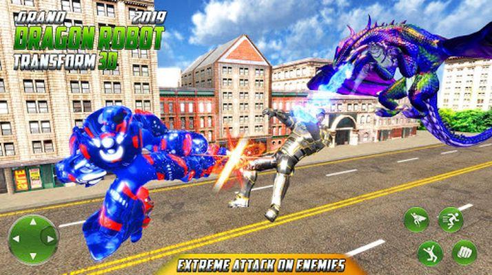 Image 4 of Grand US Dragon Robot Battle 3D