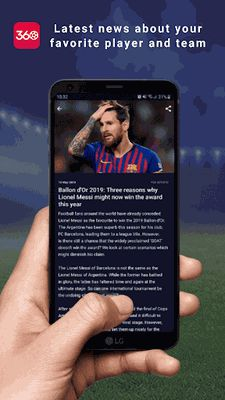 Image from FAN360 - Follow Your Favorite Teams And Players