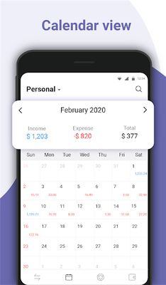 Money Manager Image 5: Expense Tracking, Accounting