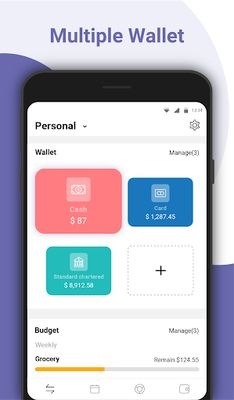 Money Manager Image 3: Expense Tracking, Accounting