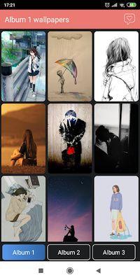 Sad wallpaper image 3: Unhappy quote, anime sad wallpaper