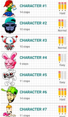 Image 3 of How to Draw Graffiti Characters