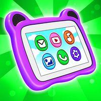 Ícone do Tablet: Imagens para colorir e jogos para bebês