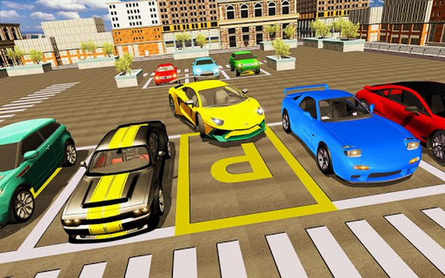Image 3 of Extreme Sports Car Parking Game: Real Car Parking