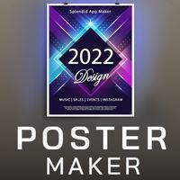 Ícone do Fazer panfletos gratis Criador de cartazes 2019 HD