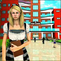 Ícone do Garota virtual: nova escola secundária