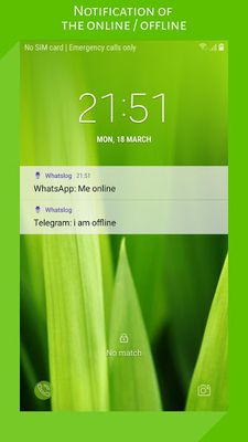 WhatsLog: online last seen screenshot apk 2