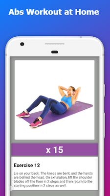 Image 2 of Abs Workout at Home