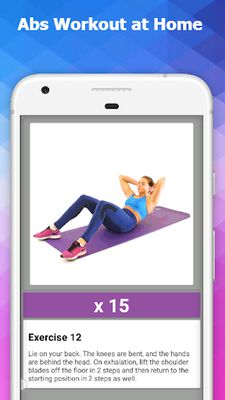 Image 12 of Abs Workout at Home