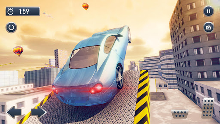 Screenshot 11 of Roof Jumping Car City Driving Simulator