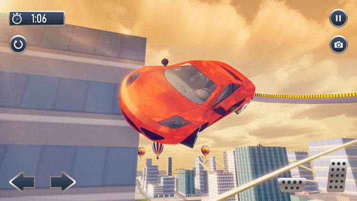 Screenshot 8 of Roof Jumping Car City Driving Simulator
