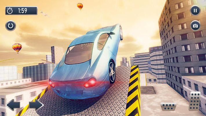 Screenshot 7 of Roof Jumping Car City Driving Simulator
