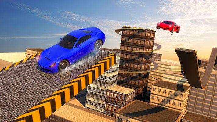 Screenshot 6 of Roof Jumping Car City Driving Simulator