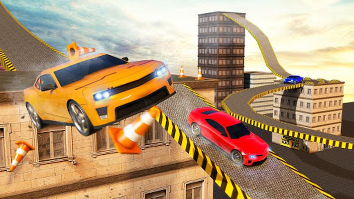 Picture 5 of Roof Jumping Car City Driving Simulator