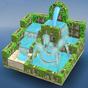Flow Water 3D Puzzle - fonte agua quebra-cabeças
