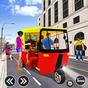 Trình mô phỏng lái xe Rickshaw Lái xe trò chơi mới