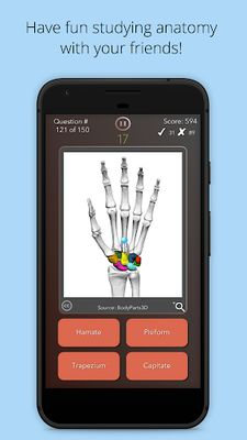 Image 9 of Anatomist - Anatomy Quiz Game