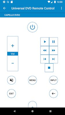 Image 1 of Universal DVD Remote Control