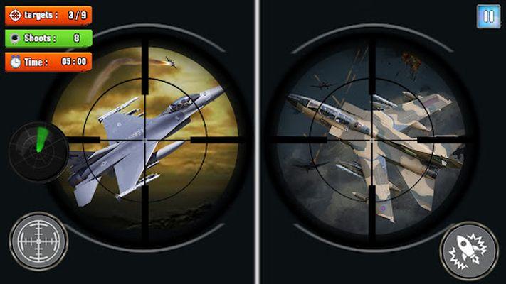 Jet Ski Warfighter 2019 screenshot 8: Combat fighter plane