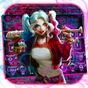 Devil Joker Girl Keyboard Theme  APK
